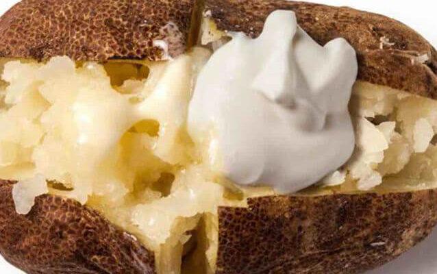 Baked Potatoes In Foil - Botulism Risk