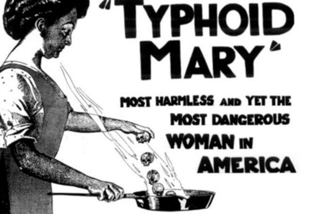 Mary Malone aka Typhoid Mary